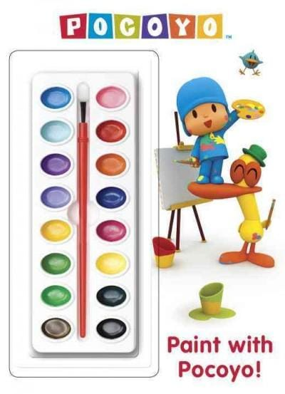 Paint With Pocoyo! (Paperback)