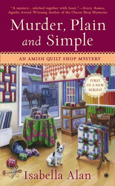 Murder, Plain and Simple (Paperback)