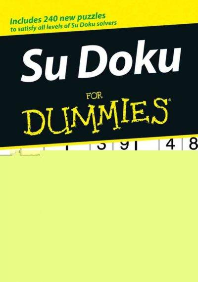 Sudoku for Dummies (Paperback)