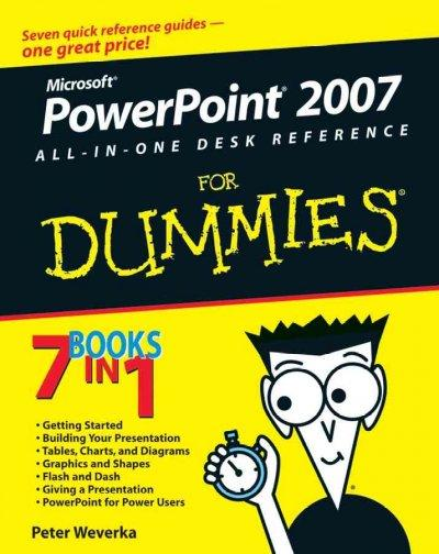 Powerpoint 2007 All-in-one Desk Reference for Dummies (Paperback)