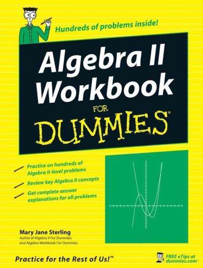 Algebra II Workbook for Dummies (Paperback)