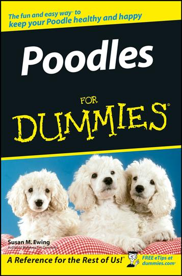 Poodles for Dummies (Paperback)