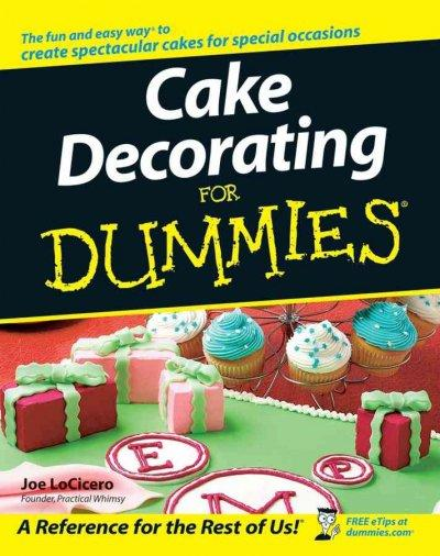 Cake Decorating for Dummies (Paperback)