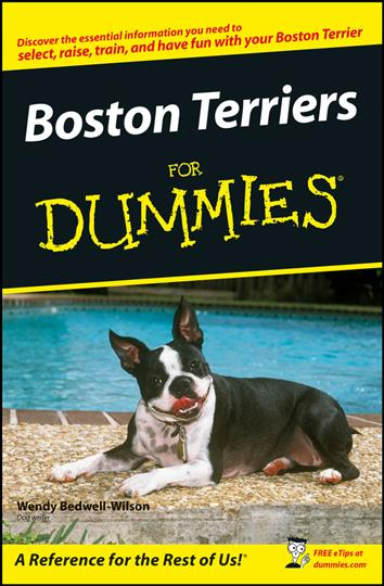 Boston Terriers for Dummies (Paperback)