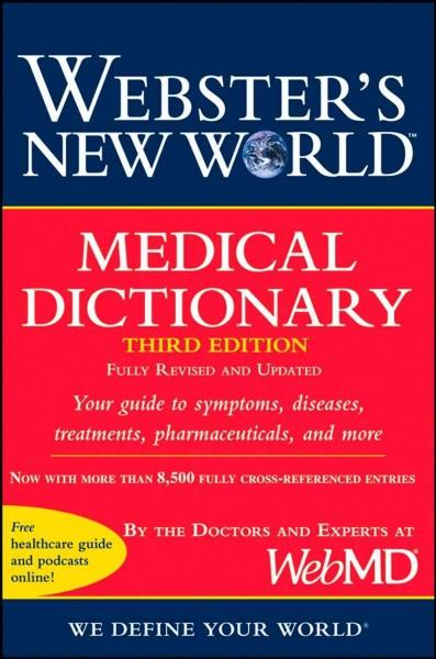 Webster's New World Medical Dictionary (Paperback)