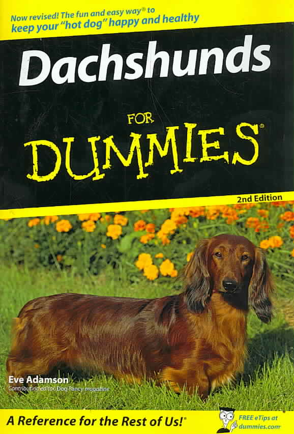 Dachshunds for Dummies (Paperback)