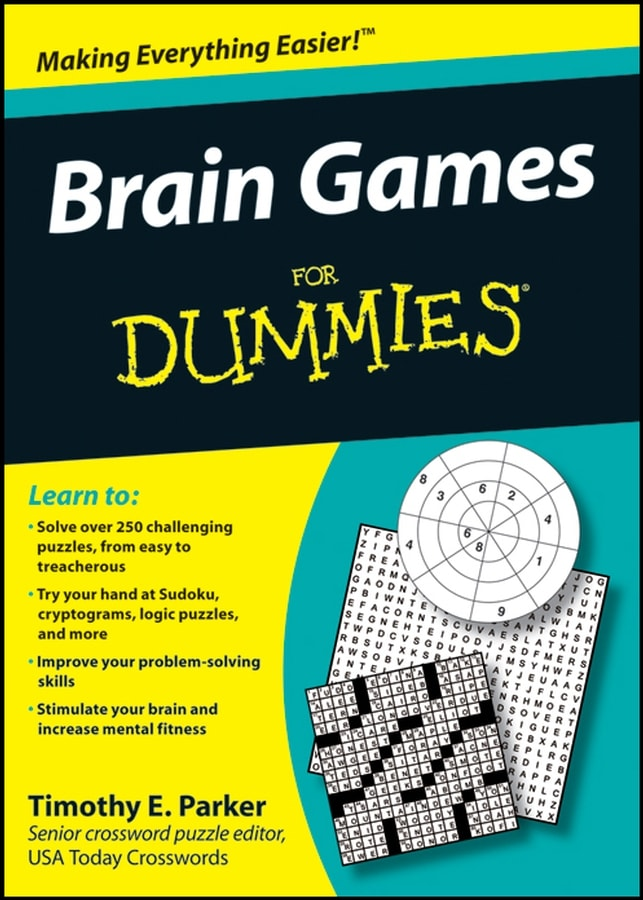 Brain Games For Dummies (Paperback)