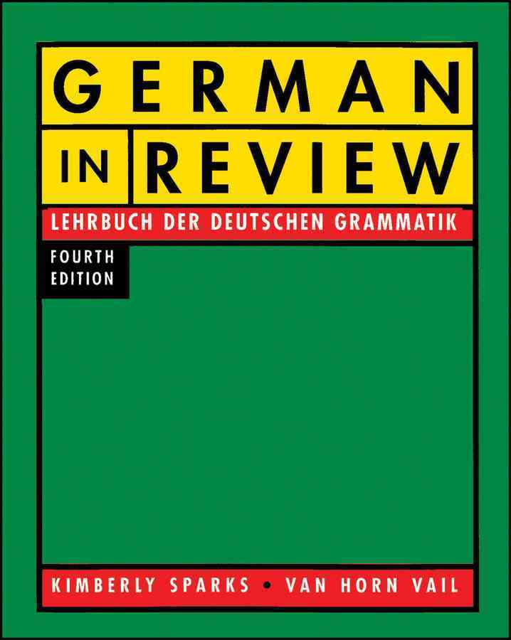 German in Review: Lehrbuch Der Deutschen Grammatik (Paperback)