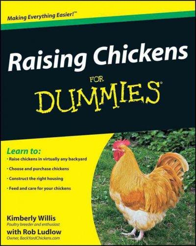 Raising Chickens for Dummies (Paperback)