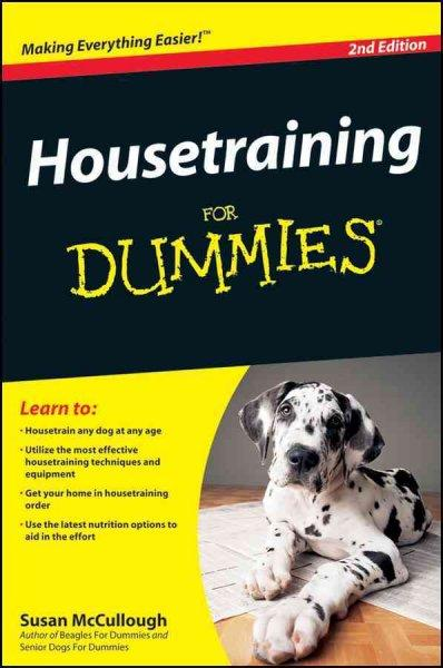 Housetraining for Dummies (Paperback)