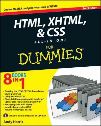 HTML, XHTML, & CSS All-in-One for Dummies