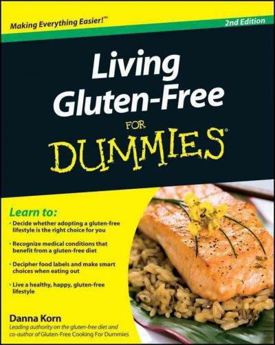 Living Gluten-Free for Dummies (Paperback)