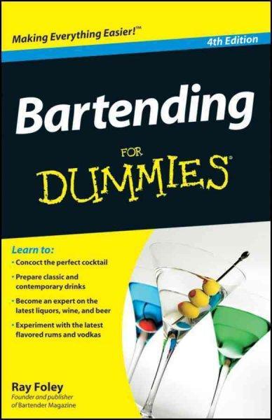 Bartending for Dummies (Paperback)
