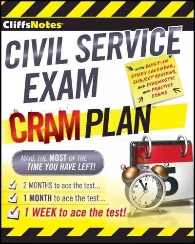 CliffsNotes Civil Service Exam Cram Plan (Paperback)
