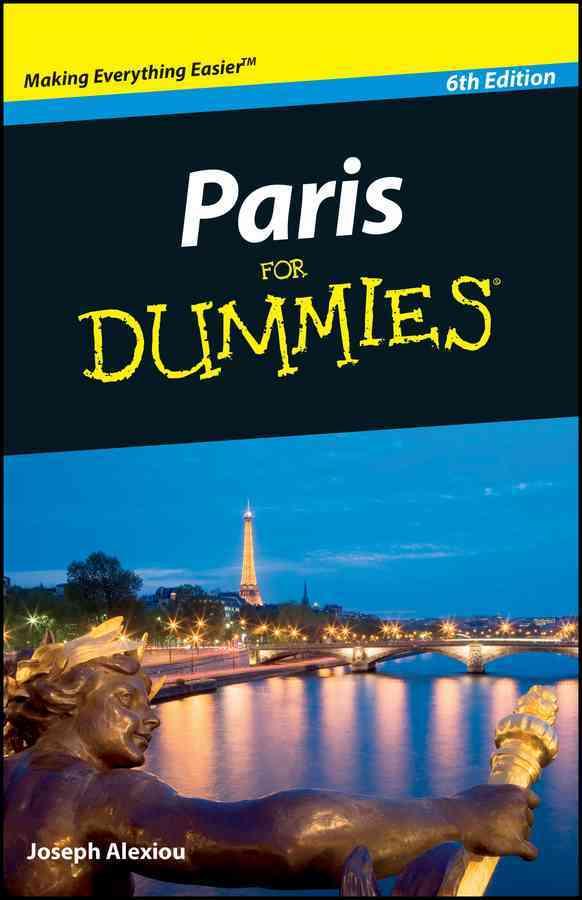 Paris for Dummies (Paperback)