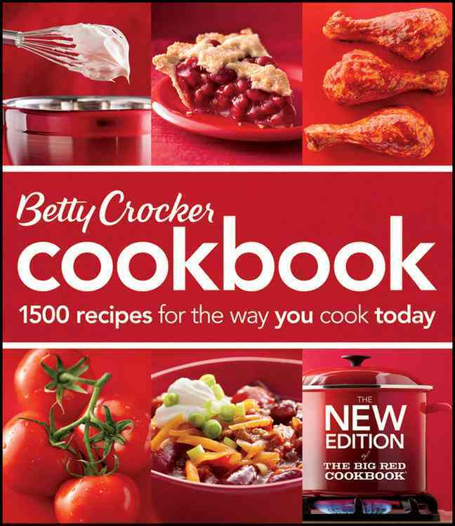 Betty Crocker Cookbook: 1500 Recipes for the Way You Cook Today (Loose-leaf)