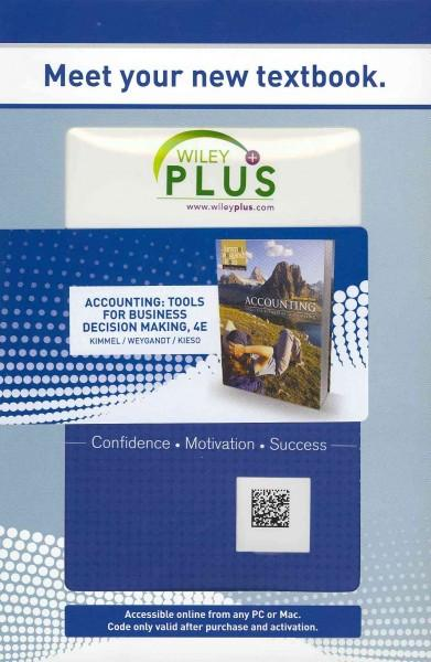 Accounting: Tools for Business Decision Makers (Other merchandise)