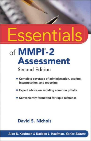 Essentials of MMPI-2 Assessment (Paperback)
