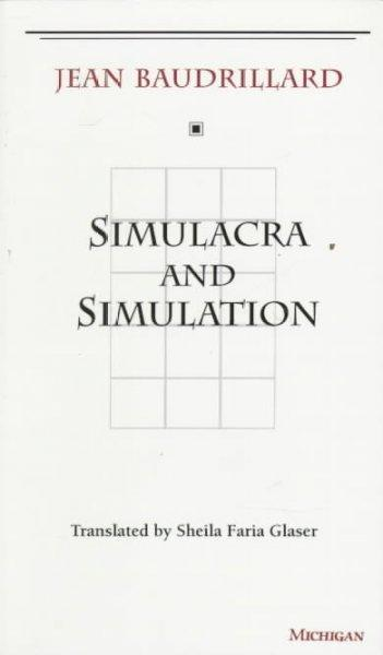 Simulacra and Simulation (Paperback)