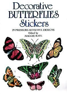 Decorative Butterflies Stickers (Paperback)