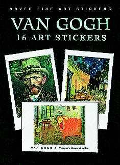 Van Gogh: 16 Art Stickers (Paperback)