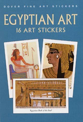 Egyptian Art:16 Art Stickers(Paperback / softback)