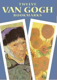 Twelve Van Gogh Bookmarks (Paperback)