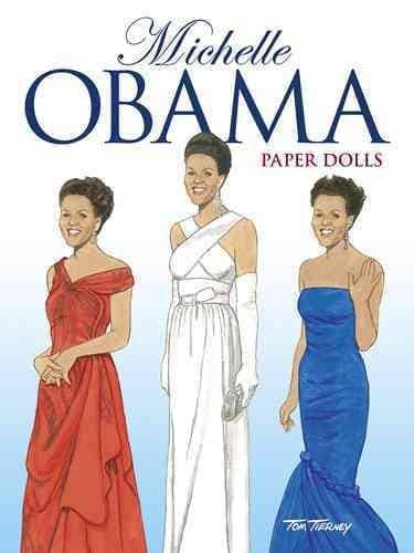 Michelle Obama Paper Dolls (Paperback)
