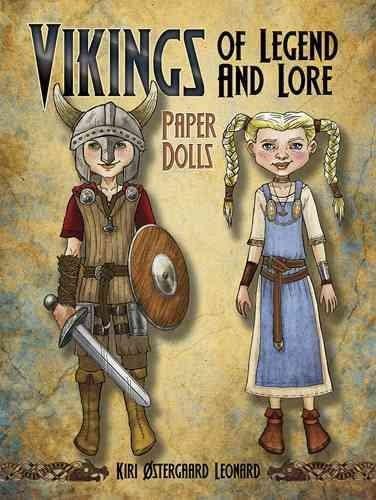 Vikings of Legend and Lore Paper Dolls (Paperback)