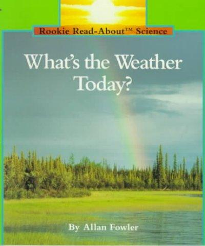 What's the Weather Today? (Paperback)