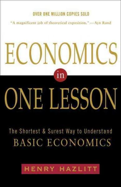 Economics in One Lesson (Paperback) - Thumbnail 0