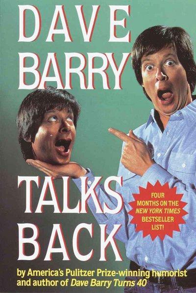 Dave Barry Talks Back (Paperback)