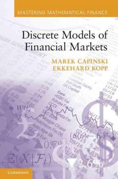 Discrete Models of Financial Markets (Paperback)