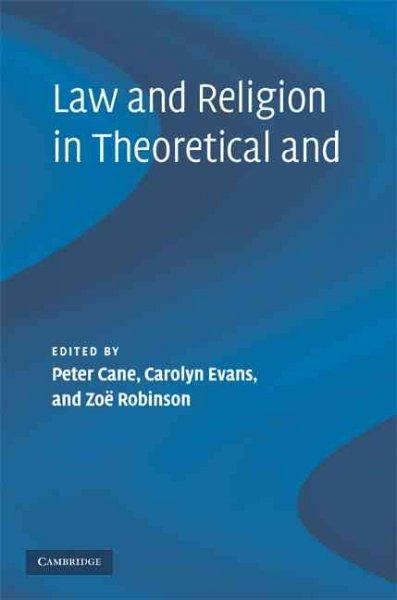 Law and Religion in Theoretical and Historical Context (Hardcover)