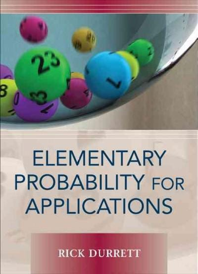 Elementary Probability for Applications (Hardcover)