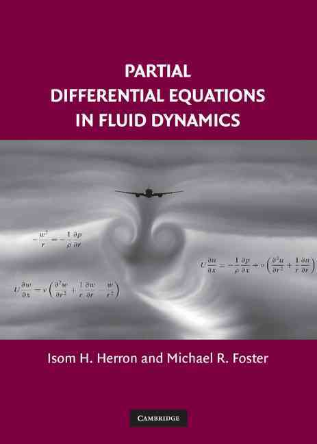 Partial Differential Equations In Fluid Dynamics (Hardcover) - Thumbnail 0