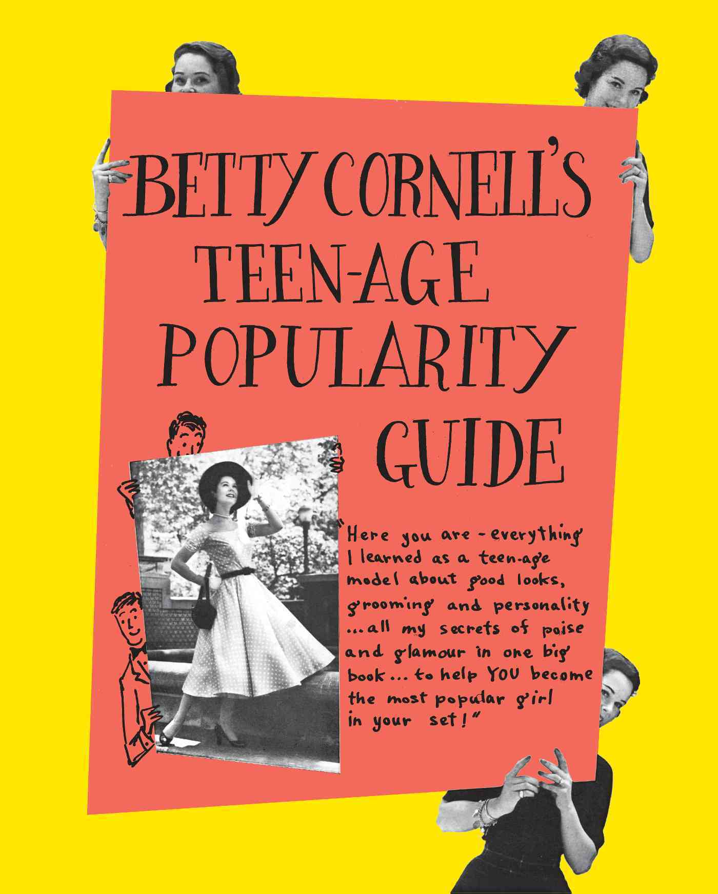 Betty Cornell's Teen-Age Popularity Guide (Hardcover)