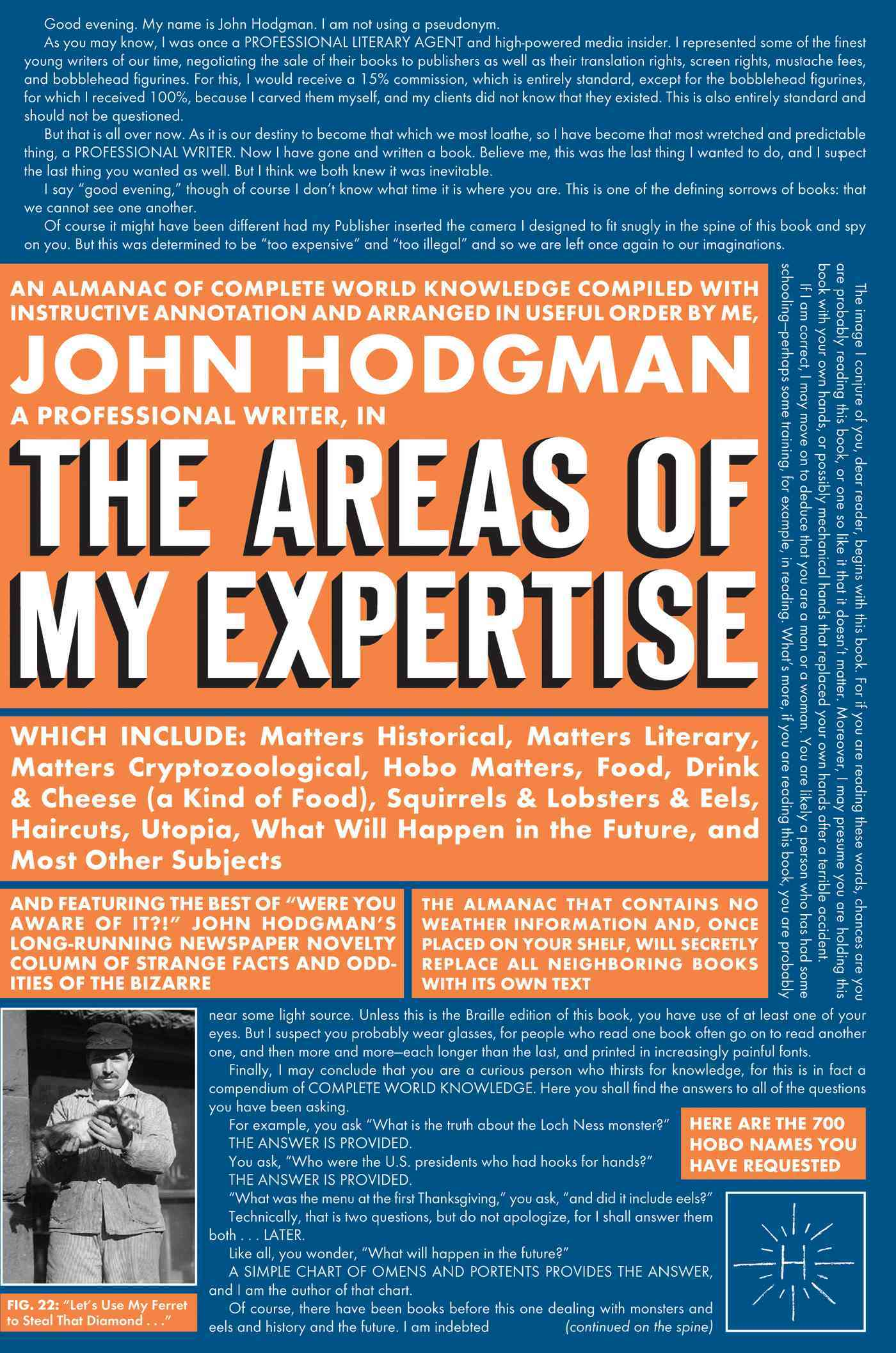 The Areas Of My Expertise (Hardcover)