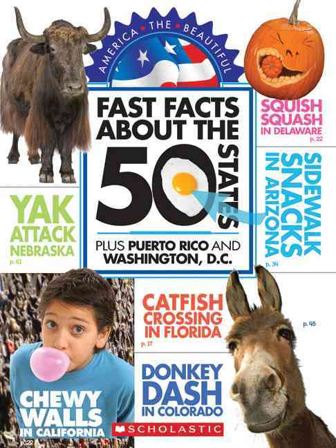 Fast Facts About the 50 States: Plus Puerto Rico and Washington, D.C. (Paperback)