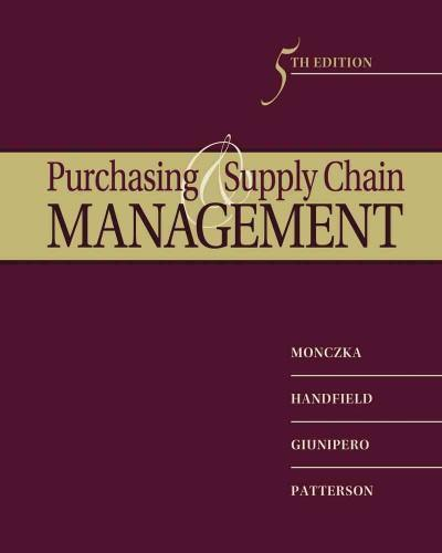 Purchasing and Supply Chain Management (Hardcover)