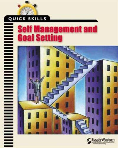 Self Management & Goal Setting (Paperback)