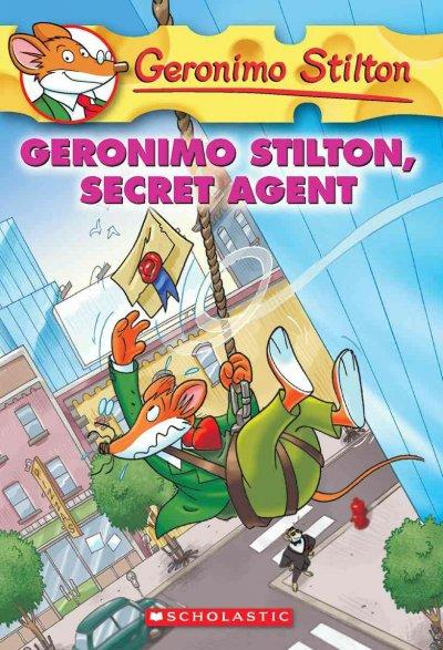 Geronimo Stilton, Secret Agent (Paperback) - Thumbnail 0