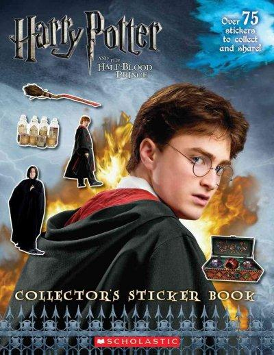 Harry Potter and the Half-Blood Prince Collector's Sticker Book (Paperback)