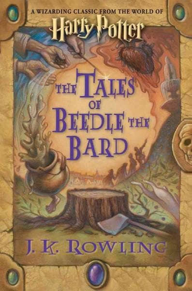 The Tales of Beedle the Bard: A Wizarding Classic from the World of Harry Potter (Hardcover) - Thumbnail 0