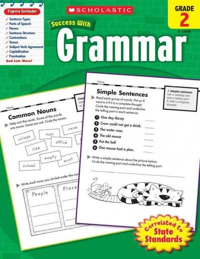 Scholastic Success With Grammar, Grade 2 (Paperback)