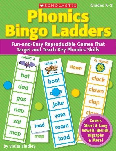 Phonics Bingo Ladders (Paperback)