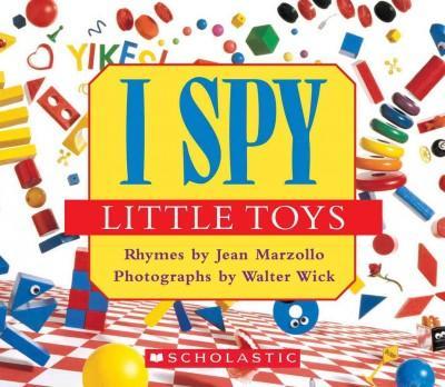 I Spy Little Toys (Board book)