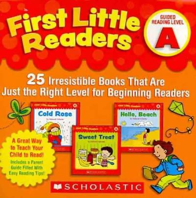First Little Readers Guided Reading Level A: 25 Irresistible Books That Are Just the Right Level for Beginning Re... (Paperback) - Thumbnail 0