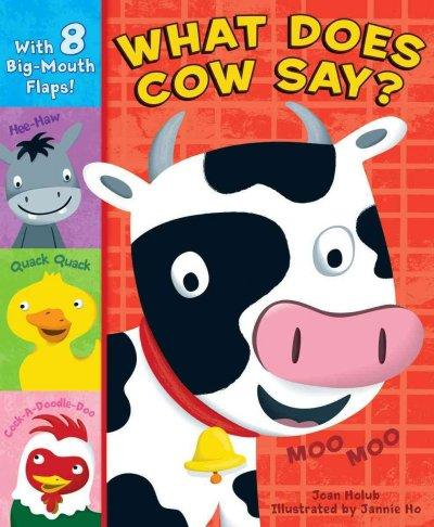 What Does Cow Say? (Board book)