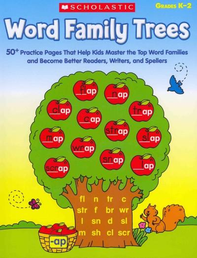 Word Family Trees Grades K-2 (Paperback)